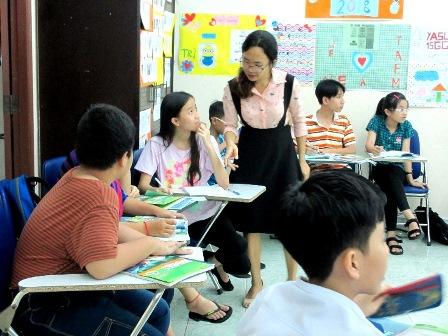 Cảm nghĩ của giáo viên dạy tiếng Anh – Cô Trần Thị Thu Hương