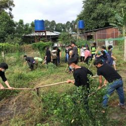 A TRIP TO REMEMBER – THANG LONG STUDENTS GOING TO THIEN BINH SHELTER